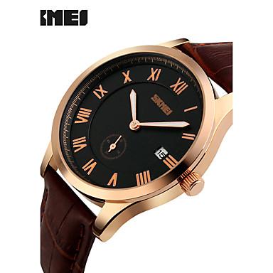 Heren Sporthorloge Dress horloge Modieus horloge Polshorloge Unieke creatieve horloge Chinees Kwarts Kalender Chronograaf Grote
