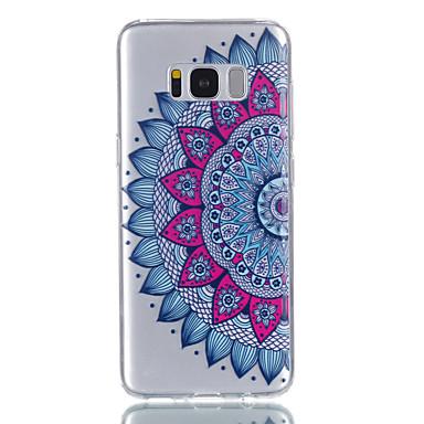 Hülle Für Samsung Galaxy S8 Plus S8 Muster Rückseitenabdeckung Mandala Weich TPU für S8 S8 Plus S7 edge S7 S6 S5