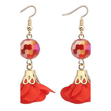 Damen Ohrstecker Tropfen-Ohrringe Kreolen Schmuck Basis Einzigartiges Design Logo Stil Perle Freundschaft Multi-Wege Wear Beidseitig