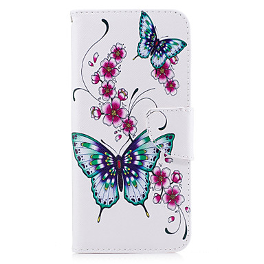 Case For Samsung Galaxy S8 Plus S8 Card Holder Wallet with Stand Flip Magnetic Pattern Full Body Cases Butterfly Hard PU Leather for S8