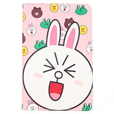 Hülle Für Apple iPad Mini 4 iPad Mini 3/2/1 mit Halterung Flipbare Hülle Muster Automatisches Schlafen/Aufwachen Ganzkörper-Gehäuse
