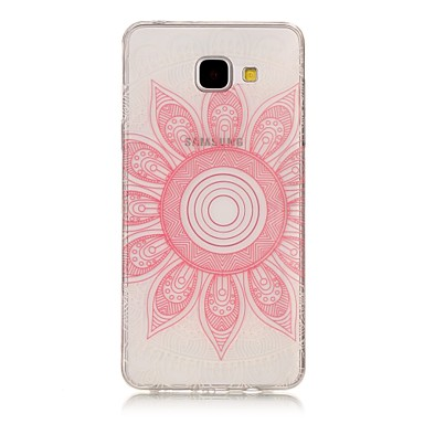 hoesje Voor Samsung Galaxy A5(2017) A3(2017) Transparant Patroon Achterkant Mandala Zacht TPU voor A3 (2017) A5 (2017) A5(2016) A3(2016)