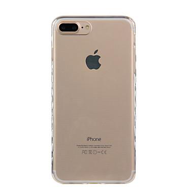 Für iPhone X iPhone 8 Hüllen Cover Stoßresistent Transparent Rückseitenabdeckung Hülle Volltonfarbe Weich TPU für Apple iPhone X iPhone 8