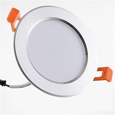 1pc 9W 900lm 20 LEDs Gemakkelijk te installeren Verzonken Decoratief LED-neerstralers Warm wit Koel wit AC 85-265V