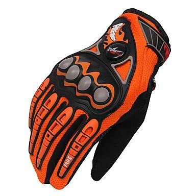 Activități/ Mănuși de sport Unisex Mănuși pentru ciclism Mănuși Motor Respirabil Protector Deget Întreg Pânză Mănuși pentru ciclism