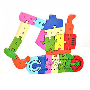 Legpuzzels DHZ-kit Bouw blokken DHZ-speelgoed Graafmachine