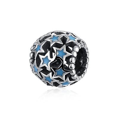 Damen Anhänger Schmuck Kreisförmig Sterling Silber Personalisiert Kreisförmiges Einzigartiges Design Anhänger Stil Retro Böhmische