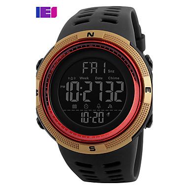 levne Pánské-Pánské Sportovní hodinky Inteligentní hodinky Náramkové hodinky Digitální Silikon Vícebarevný 30 m Voděodolné Kalendář Chronograf Digitální Přívěšky Módní Elegantní Hodinky k šatům Unikátní kreativn