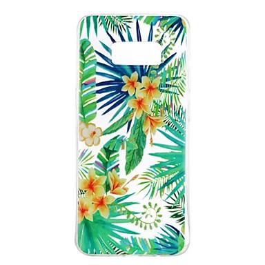 hoesje Voor Samsung Galaxy S8 Plus S8 Patroon Achterkantje Bloem Zacht TPU voor S8 S8 Plus S7 edge S7