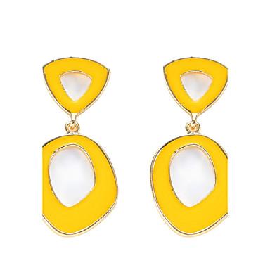 Dames Druppel oorbellen Uniek ontwerp Meetkundig Kostuum juwelen arylic Legering Sieraden Sieraden Voor Feest Dagelijks Causaal Toneel