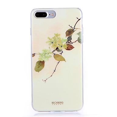 hoesje Voor Apple iPhone 7 Plus iPhone 7 Patroon Achterkant Boom Zacht TPU voor iPhone 7 Plus iPhone 7 iPhone 6s Plus