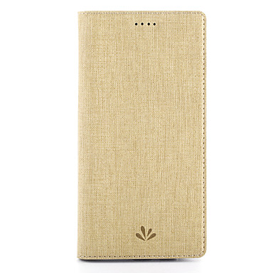 Maska Pentru Samsung Galaxy Titluar Card Cu Stand cu Fereastră Carcasă Telefon Culoare solidă Greu PU piele pentru C9 Pro C5