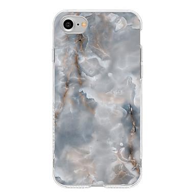 Hülle Für iPhone 7 plus iPhone 7 iPhone 6s Plus iPhone 6 Plus iPhone 6s iPhone 6 Apple Muster Rückseite Marmor Weich TPU für iPhone 7