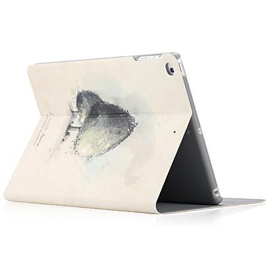 Hülle Für Apple iPad Air 2 iPad Air mit Halterung Flipbare Hülle Muster Ganzkörper-Gehäuse Hart für iPad Air iPad Air 2 iPad 9.7 (2017)