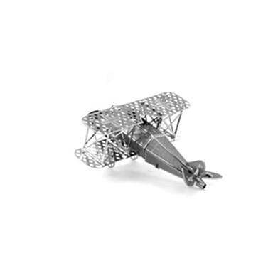 3D-puzzels Modelbouwsets Speeltjes Vliegtuig Roestvrij Staal Unisex Stuks