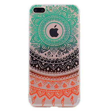 Voor iphone 7 plus 7 telefoon hoes kantdruk patroon zacht tpu materiaal telefoon hoesje 6s plus 6 plus 6s 6 zie 5s 5