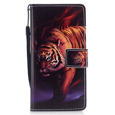 Hülle Für Samsung Galaxy A5(2017) A3(2017) Geldbeutel Kreditkartenfächer mit Halterung Flipbare Hülle Muster Magnetisch Handyhülle für