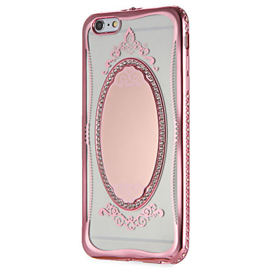 Per A Custodia Apple La 7 specchio stampa in TPU 7 Morbido Per per iPhone iPhone Glitterato retro Fantasia iPhone Plus pizzo 7 05982759 disegno 0ddqw4xr