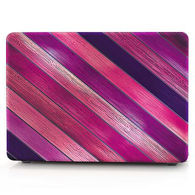 MacBook Herbst für MacBook Holzmaserung Streifen Polycarbonat Stoff