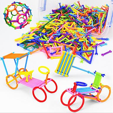 Speelgoedauto's Bouwblokken 3D-puzzels Logica & Puzzelspeelgoed Educatief speelgoed Plezier Vierkant Cirkelvormig Driehoek Ster Kinderen