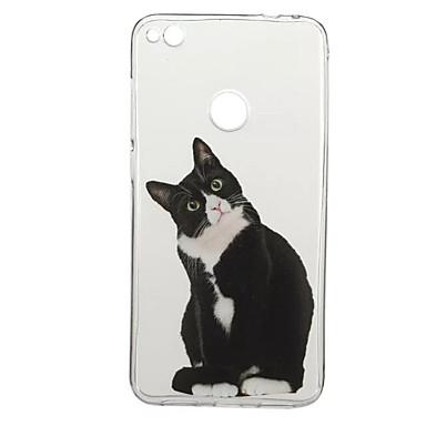 من أجل أغط / كفرات نموذج غطاء خلفي غطاء قطة حيوان ناعم TPU إلى HuaweiHuawei P10 Plus Huawei P10 هواوي P9 Huawei P9 Lite Huawei P8 Lite