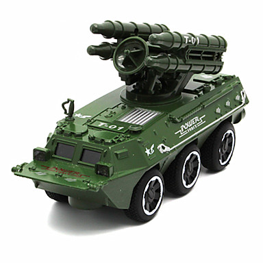 Jucării pentru mașini Jucarii Vehicul Militar Jucarii Simulare Altele Rezervor Car de Război Aliaj Metalic Bucăți Unisex Cadou