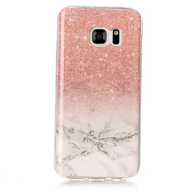 Hülle Für Samsung Galaxy S8 Plus S8 IMD Muster Rückseite Marmor Weich TPU für S8 Plus S8 S7 edge S7 S6 edge S6 S5 S4 S3