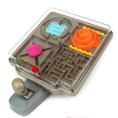 ألعاب ألعاب مربع بلاستيك قطع للجنسين هدية