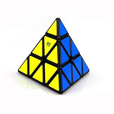 Rubiks kubus Warrior Pyramid Soepele snelheid kubus Magische kubussen Puzzelkubus Kunststoffen Driehoek Geschenk