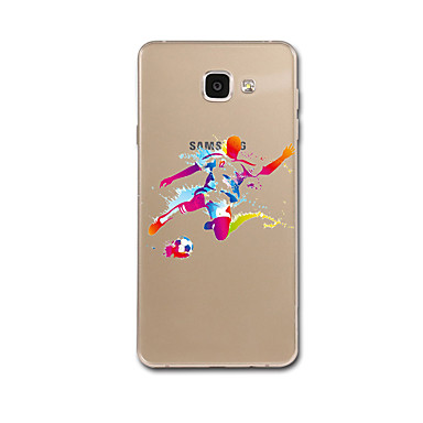 Voor samsung galaxy a7 (2017) s5 case cover patroon achterkant behuizing cartoon kleurgradiënt zachte tpu voor Samsung Galaxy a7 a5 (2017)