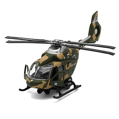 Speeltjes Modelbouwsets Helikopter Speeltjes Simulatie Vliegtuig Helikopter Metaallegering Metaal Stuks Unisex Geschenk