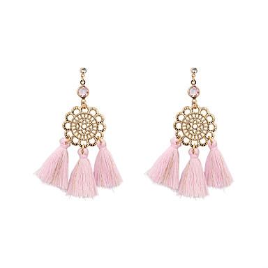 Pentru femei Cercei Picătură Bijuterii Bohemia Stil Personalizat Euramerican La modă Amestec In/Bumbac Aliaj Bijuterii PentruNuntă