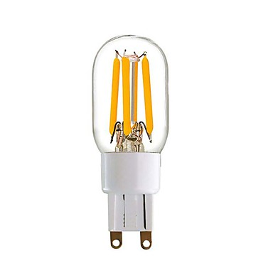 4W 350 lm LED Doppel-Pin Leuchten T 4 Leds COB Warmes Weiß
