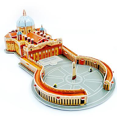 3D-puzzels Legpuzzel Modelbouwsets Beroemd gebouw Architectuur DHZ Papier Kinderen Jongens Unisex Geschenk