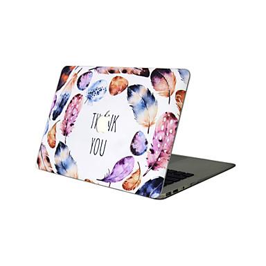 MacBook Hoes voor Veren PVC Materiaal Nieuwe MacBook Pro 15