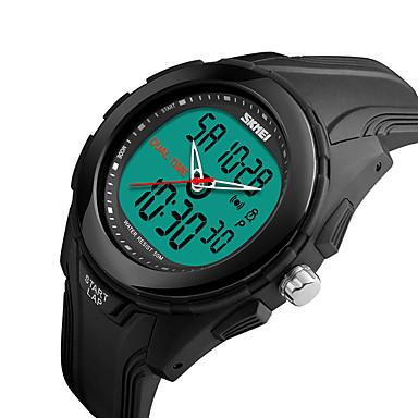Smart horloge Waterbestendig Multifunctioneel Sportief Stopwatch Wekker Chronograaf Kalender Dubbele tijdzones Other Geen Sim Card Slot