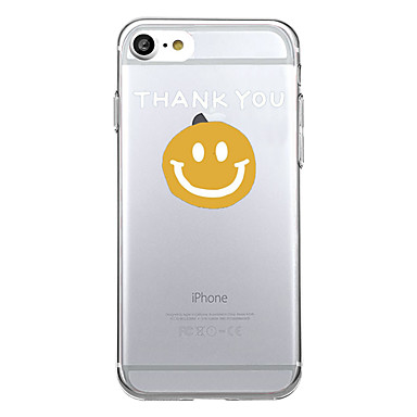 Hülle Für Apple iPhone 7 Plus iPhone 7 Muster Rückseite Wort / Satz Cartoon Design Weich TPU für iPhone 7 Plus iPhone 7 iPhone 6s Plus