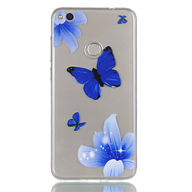 Für huawei p8 lite (2017) p9 lite Telefon Fall tpu Material Schmetterling Muster Relief Telefon Fall p8 Lite