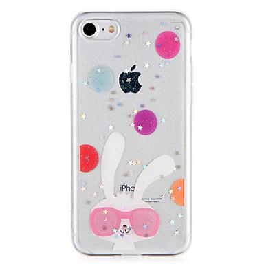 من أجل أغط / كفرات نموذج غطاء خلفي غطاء حيوان بريق لماع ناعم TPU إلى Apple فون 7 زائد فون 7 iPhone 6s Plus iPhone 6 Plus iPhone 6s أيفون 6