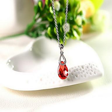 Dames Hangertjes ketting Sieraden Sieraden Kristal Legering Uniek ontwerp Modieus Euramerican Kostuum juwelen Sieraden Voor Feest Anders