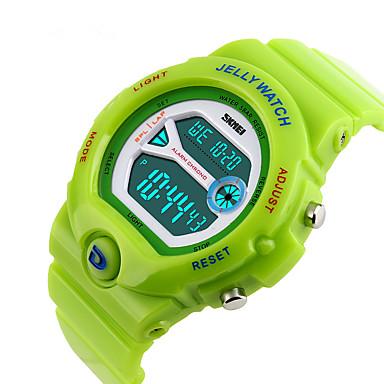 Uita-te inteligent Rezistent la Apă Multifuncțional Sporturi Cronometru Ceas cu alarmă Cronograf Calendar Zone Duale de Timp Other Nr