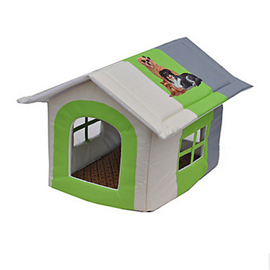 Pisici Câine Paturi Animale de Companie  Rogojini & Pernuțe Peteci Impermeabil Portabil Respirabil Cort Galben Verde Albastru