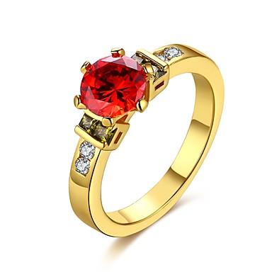 Dames Ring Synthetische Opaal Zirkonia Basisontwerp Uniek ontwerp Hart Natuur Meetkundig Vriendschap Verstelbaar Aanbiddelijk