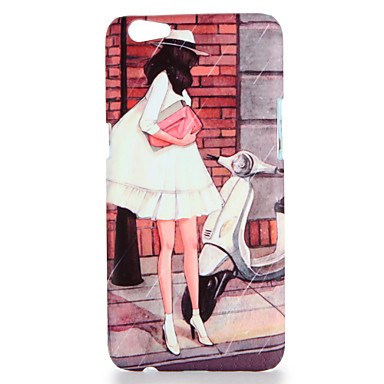 Voor oppo r9s r9s plus case cover patroon achterkant hoesje sexy dame harde pc r9 r9 plus