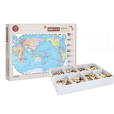 Holzpuzzle Spielzeuge Quadratisch Holz Unisex Stücke