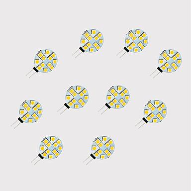 2W G4 LED Doppel-Pin Leuchten 12 SMD 5050 189 lm Warmes Weiß Weiß 3000-3500 K V