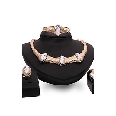 Pentru femei Seturi de bijuterii Mai multe pietre Diamant sintetic Personalizat Lux Vintage Modă Euramerican Bijuterii Statement