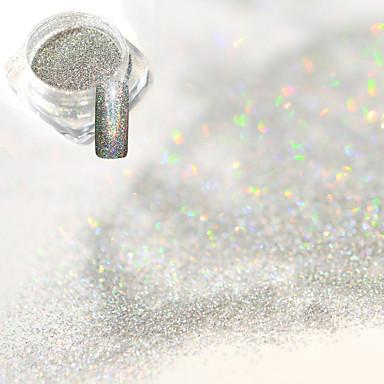 1pcs Pulbere acrilică Pulbere cu sclipici Pudră Elegant & Luxos Glitter de unghii Strălucitor & Sclipitor Nail Art Design