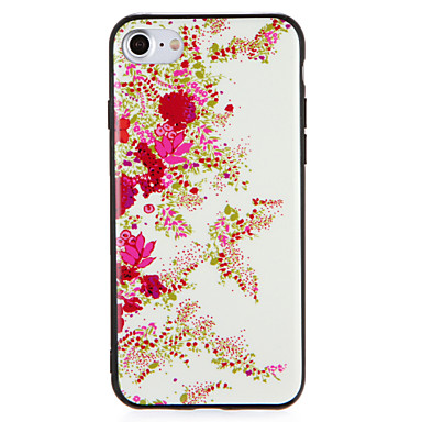 hoesje Voor Apple iPhone 7 Plus iPhone 7 Patroon Achterkant Bloem Hard PC voor iPhone 7 Plus iPhone 7 iPhone 6s Plus iPhone 6s iPhone 6