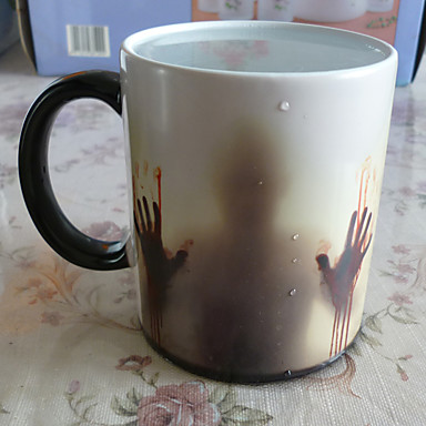 Lässig/Alltäglich Gehen Bar Trinkbecher, 400 Keramik Tee Wasser Tee&Getränke Becher